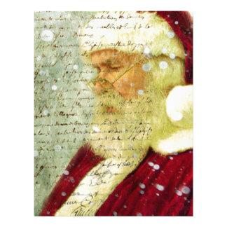Santas Letter Letterhead Design