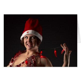 Santa's Little Elf Card