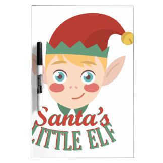 Santas Little Elf Dry-Erase Whiteboard