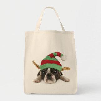 Santa's Little Helper Bag!  Dog Lovers Bag! Tote Bag