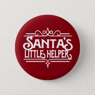 Santa's Little Helper Button