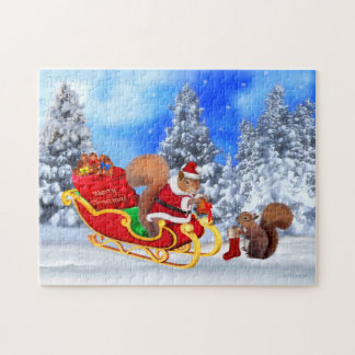 SANTA'S LITTLE HELPER JIGSAW PUZZLE