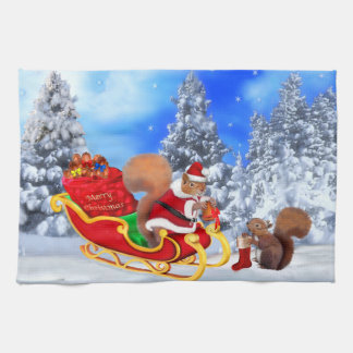 SANTA'S LITTLE HELPER KITCHEN TOWEL
