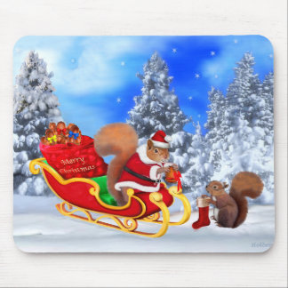 SANTA'S LITTLE HELPER MOUSE PAD