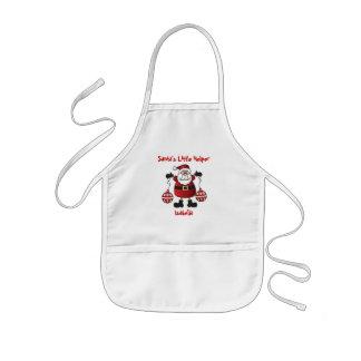 Santa's Little Helper | Santa Claus Kids Apron