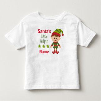 Santa's Little Helper Toddler Fine Jersey T-Shirt