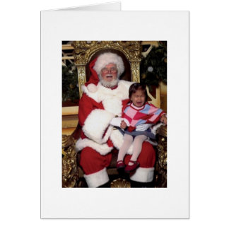 Santa's little problem card