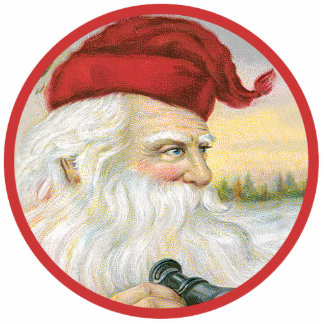 Santa's Looking for You Photo Sculpture Ornament