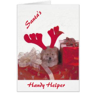 Santa's Lovely Helper Card