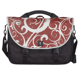 Santa's Magic Snow Laptop Commuter Bag