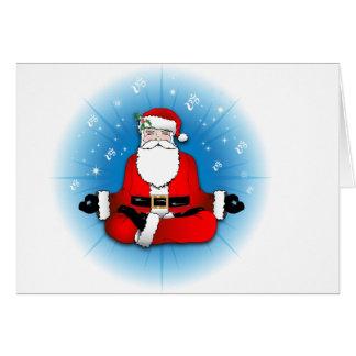 Santas Meditation Card