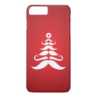 Santa's Mustache Christmas Tree iPhone 7 Plus Case
