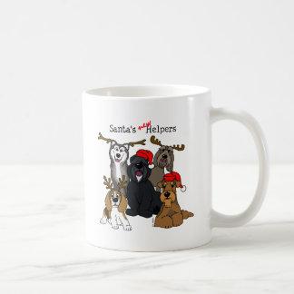 Santas new helpers coffee mug