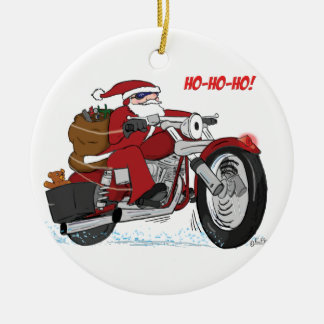 Santa's New Sled Ornament