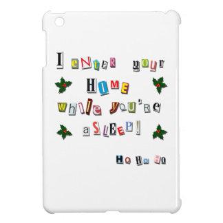Santa's note iPad mini cases