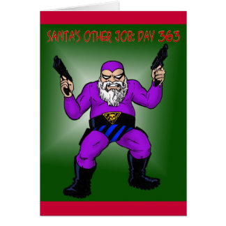santa's other job: day 363 card