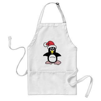 Santa's Penguin Mascot Standard Apron