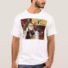 Santa's Poodles (St+T) T-Shirt