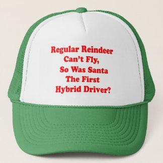 santa's reindeer hybrid pun trucker hat