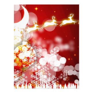 Santa's Reindeer Letterhead