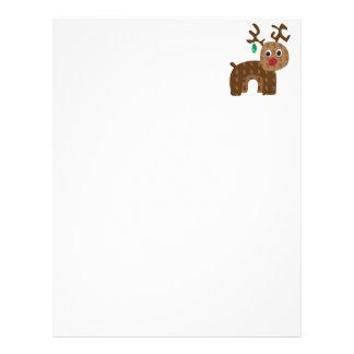 Santa's Reindeer Personalized Letterhead