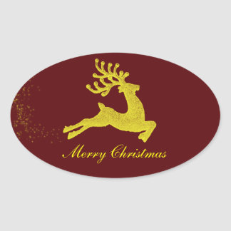 Santas Reindeer sticker