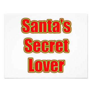 Santa's Secret Lover Announcements