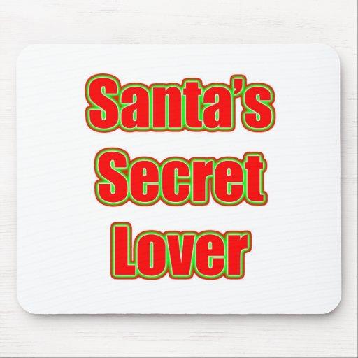 Santa's Secret Lover Mouse Pads