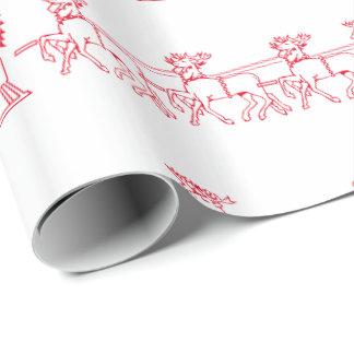 SANTAS SLAY wrapping paper