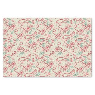 Santas Sleigh Cutout Flourish Tissue Paper