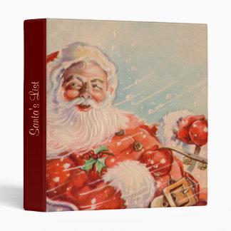 Santas Sleigh Ride binder