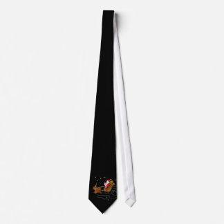 Santa's Sleigh - Tie