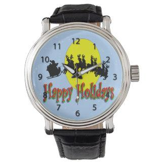 Santa's Sleigh Watch