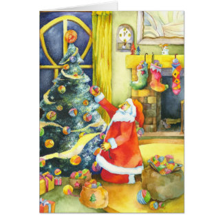Santa's Special Christmas Holiday Greeting Card