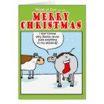 Santas Stocking Greeting Card