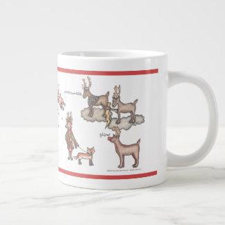 Santa's Team Jumbo Mug