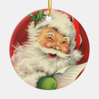 Santa's Toy List Ornament
