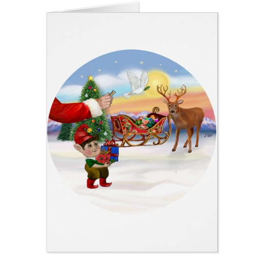 Santas Treat - Add Your Pet Here Card