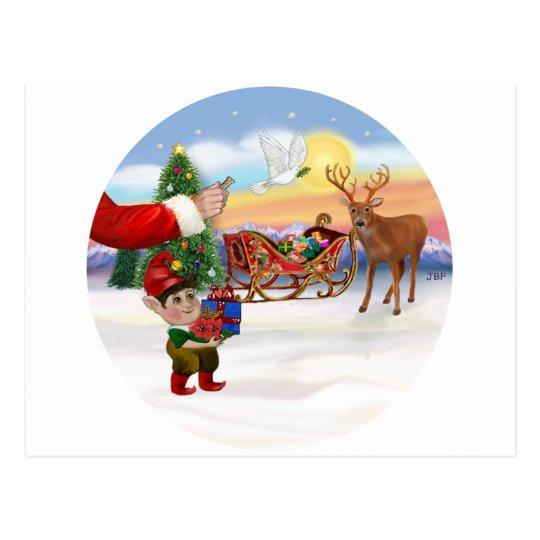 Santas Treat - Add Your Pet Here Postcard