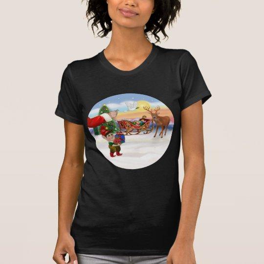 Santas Treat - Add Your Pet Here T-Shirt