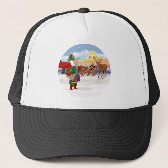 Santas Treat - Add Your Pet Here Trucker Hat