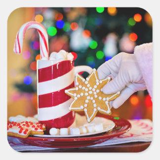 Santa's Treats Sticker