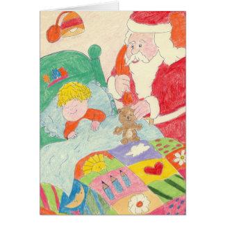 Santa's Visit Card