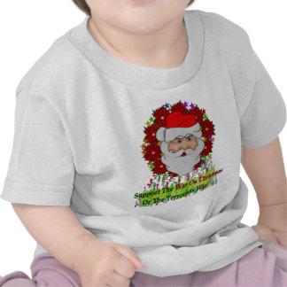 Santa's War On Xmas Tee Shirts