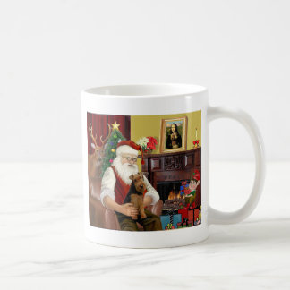 Santa's Welsh Terrier Coffee Mug