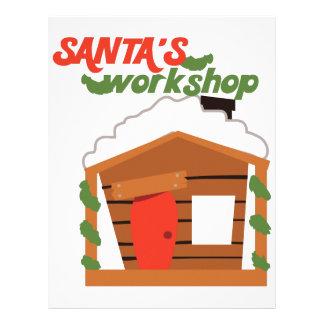 Santas Workshop Customized Letterhead