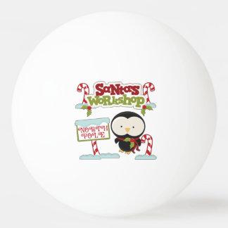 Santa's Workshop Penguin/Jolly Holidays Ping-Pong Ball
