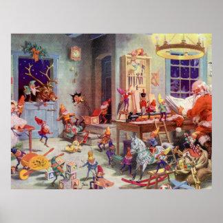 Santas Workshop Poster