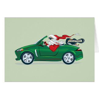 Santa's World Tour Convertible Card