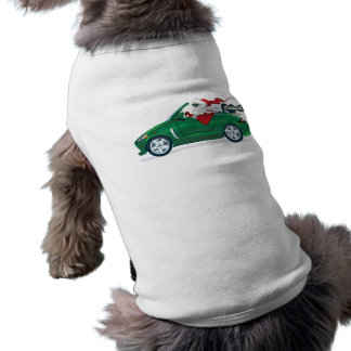 Santa's World Tour Convertible Pet Shirt